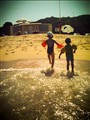 Beach lomography