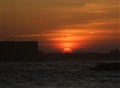 sunset at Essaouira , Morroco