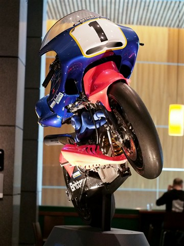 Britten Motorcycle (Front) - Te Papa Museum of NZ