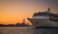 A cruise boat in Venice