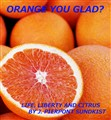 ORANGE YOU GLAD?
