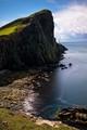 The cliff at Neist Point, Isle of Skye, Scotland, UK.