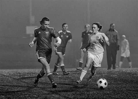 Soccer in the Mist and Fog