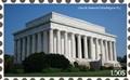 lincoln memorial stamp