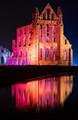 Whitby Abbey - illuminated