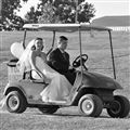 Bride on the Fairway
