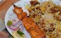 Biriyani with Chicken Kabab