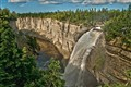 Vaureal Waterfall Anticosti Island...
