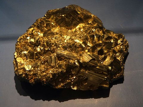 Pyrite (Iron sulfide)