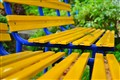 Complementary Colors Bench