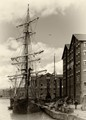 Tall Ship at Gloucester Docks
