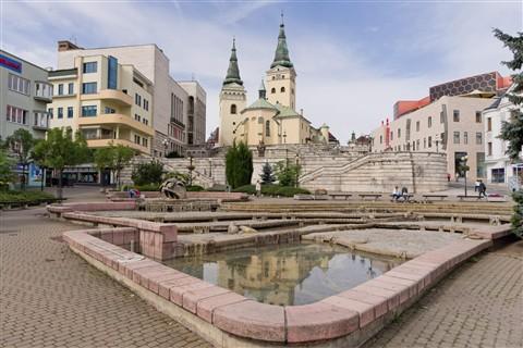 city of Zilina, Slovakia