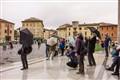 Rain at Pisa