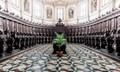 Marble floor in  Cathedral in Venice