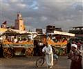 Djemaa El Fna square,Marrakech, Morocco