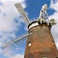 John Webb's windmill 1804, Thaxted, England