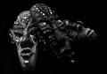 African masks (magnets:)