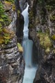 Waterfall in Maligne Canyon