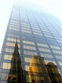 city reflexion
