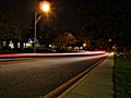around the corner: 80th/120 in cars at night