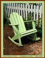 Green Rocker in Yard - Chesapeake City, MD
