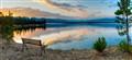 Hebgan lake / Montana