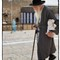 Rabbi walking
