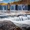 Dam at Desoto Falls: OLYMPUS DIGITAL CAMERA