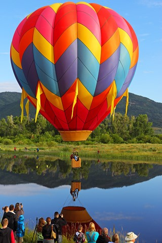 Colorado Hot Air Balloon Rodeo