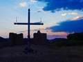 Sunset and Cross