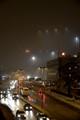 Helsinki in fog