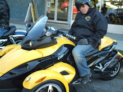 """Can-AM Spyder"""
