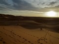 Merzouga sunset