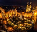 Christmas Market, Old Town Square, Prague,