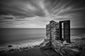 This is what's left of an old fisherman's house, carefully placed by the sea. I can only imagine the thoughts and emotions experienced here...