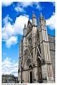 Orvieto, Italy view of the Duomo Facade