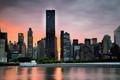 Manhattan sunset - from Long Island City