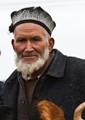 Uighur Farmer at the livestock market in Kashgar