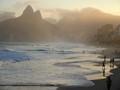 Sunset at Ipanema Beach