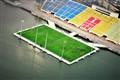 Singapore's Floating Football Pitch
