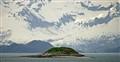 Oasis island in Alaska