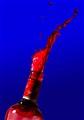 red liquid blast