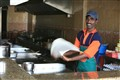 Flipping Roti Canai
