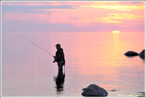fishingsunset
