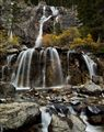 Waterfalls in the fall
