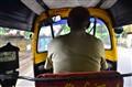 Inside a Rikshaw