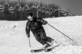 White Tail Ski, my dad b/w