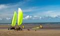 de panne beach sand yachting