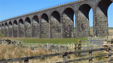 Shankend Viaduct, near Hawick, Roxburghshire, Scotland, UK, 3/2012