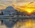Jefferson Memorial at Sunrise